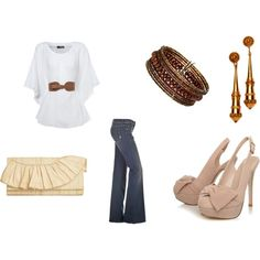casually fancy, created by mommadoc on Polyvore