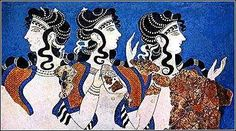 priestessesgreece.jpg -  The Melissae, also known as the Thriae, were the Priestesses of the Bee in Ancient Greece