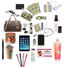 """what's in my Purse"" by roxyrazorback on Polyvore"