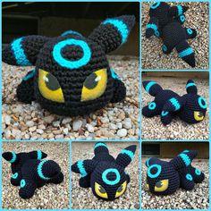 Finished this guy up the other night! By far my absolute FAVORITE creation yet. I didn't want to give him up #crochels #crochet #crocheting #etsyhunter #etsyusa #etsyprepromo #shopetsy #etsyfinds #etsyshopowner #etsyseller #etsystore #crochetseller #crochetblog #kawaiicrochet #geekycrochet #handmade #supportsmallbusinesses #amazonhandcrafted #handmadeatamazon #umbreon #pokemon #nintendo #pokemonplush #kawaiiamigurumi #geekery #geekygifts #shinypokemon #shinyumbreon #babypokemon…