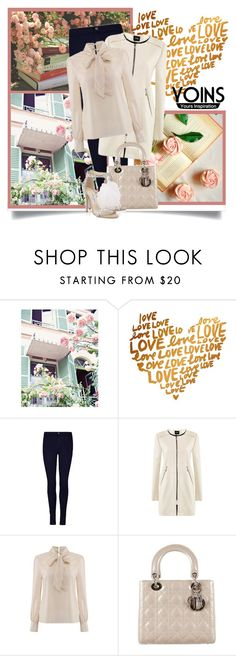 """""""Yoins 10"""" by danielle-broekhuizen ❤ liked on Polyvore featuring Christian Dior and Jimmy Choo"""