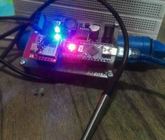 Thermometer SMS well done! you can monitor temperature through SMS anytime anywhere  ========================== #thermometer #sms #qrimly #ordernow #order #project #arduinonano #arduino #temperature #iot #smarthome #sim800l #sensor #simple #entrepreneur by qrimly