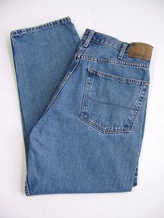 DENIZEN 285 Jeans by LEVIS Mens Pants Relaxed Fit Blue Cotton Size 38 x 30 #Levis #Relaxed