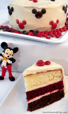 So adorable and so easy to make - our Mickey Mouse Cake is perfect for a Mickey Mouse Birthday Party or as a special treat for that Disney lover in your life. Follow us for more fun Mickey Mouse Party Ideas.