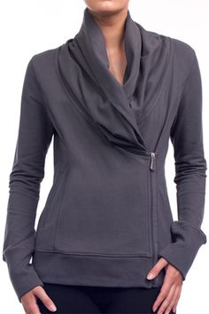 Alo Activewear Assymetrical Jacket >> This is wonderful! I want it!
