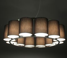 Bibendum chandelier by Martin Huxford