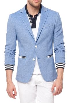 THIS is the light blue blazer I want.