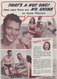 It's the day for the best memes & funny pics. This weird & wacky new dump of funny memes overflows with belly laughs & twisted humor Vintage Humor, Funny Vintage Ads, Funny Ads, Vintage Food, Retro Food, Wtf Funny, Creepy Vintage, Funny Cartoons, Old Advertisements