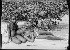 'Voyage au Congo' avec André Gide, 1927. Ph. Marc Allégret