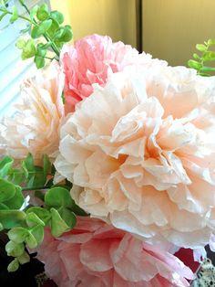 Easy to Follow Tutorial: Coffee filter flowers