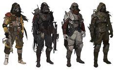 Destiny Character concept art.