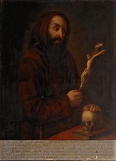 ANONIMO, padre Matteo da Bascio (XVI sec.), fondatore dell'Ordine Cappuccino