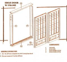 Standard Shoji Screens/Doors Informational Guide