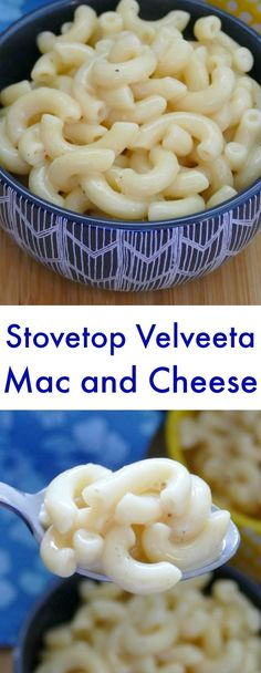 Stovetop Velveeta Macaroni and Cheese