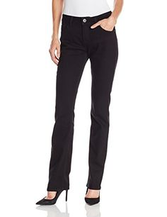 Clothing, Shoes & Jewelry > Women > Clothing > Jeans > Lee Women's Perfect Fit Axel Straight Leg Jean, Gotham, 8 Get Price Five-pocket st. Business Casual Jeans, Women's Straight Jeans, Jeans Store, Jean Outfits, Perfect Fit, Black Jeans, Legs, Clothes For Women, Women's Jeans