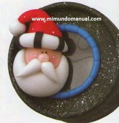 Porcelana fría Navidad paso a paso   Mimundomanual