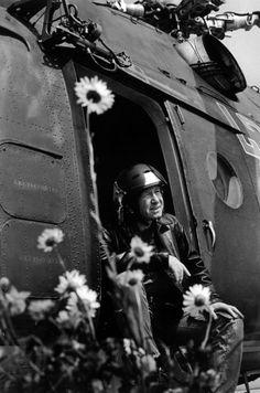 Алексей Леонов отдыхает после боевого дежурства. СССР, 1973 год.