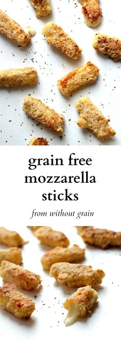 These Grain Free Mozzarella Sticks are the best appetizer. You can't even tell they are gluten free!