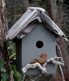 driftwood birdhouse, bird hous