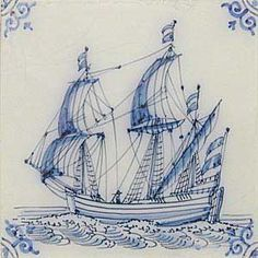 Delft hand painted tiles