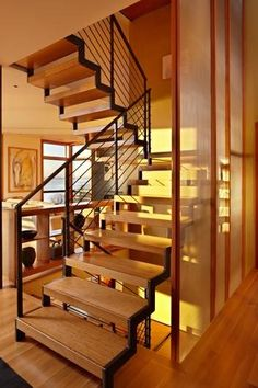love these stairs and the house