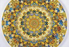 現代アーティスト・ダミアン・ハーストの9,000匹の蝶を使ったステンド ...