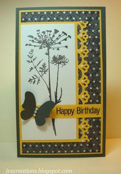 Happy+Birhday+in+Yellow+&+Gray - Scrapbook.com