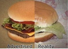 Very Demotivational - page 4 Funny Food Pictures, Funny Pictures With Captions, Food Pics, Top Funny, Hilarious, Very Demotivational, False Advertising, Food Humor, Best Memes