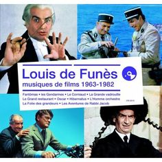 Musiques de films Louis de Funès vu dans la presse à retrouver sur Selectionnist.com