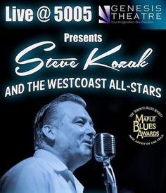 Live presents Steve Kozak and The WestCoast All-Stars Jazz Blues, Blues Music, West Coast, All Star, Einstein, Presents, Stars, Live, Gallery