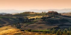 San Quirico d'Orcia, Toscane, Italie