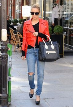 Nicole Richie I desperately want that Celine tote - Nic always has the best handbag style!