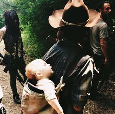 Carl Grimes. The 6th season.
