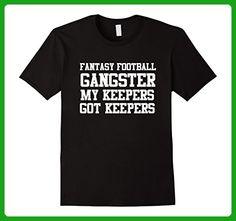 Mens Silly Fantasy Football Shirt Medium Black - Sports shirts (*Amazon Partner-Link)