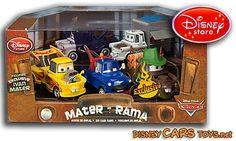 Five different maters Disney Toes, Disney Cars Toys, Martin Car, Pizza Planet, Blue Angels, Legos, Hot Wheels, Pixar, Diecast