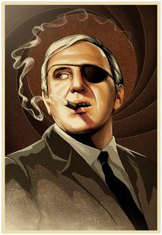 Bond Villains by MUTI , via Behance