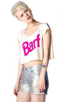 """pantsy pink """"barf"""""""