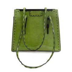 $33.31 Trendy Solid Color and Stitching Design Women's Shoulder Bag