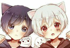 You Can Enjoy drawing tutorial Using These Helpful Tips Anime Neko, Anime Cat Boy, Neko Boy, Chibi Boy, Anime Child, Cute Chibi, Manga Anime, Anime Art, Neko Kawaii