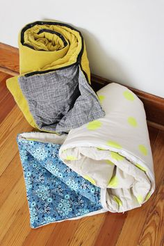 How to Sew Your Own Sleeping Bag