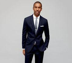 J. Crew nos enseña cinco looks para aprovechar nuestro traje azul   Rayas y Cuadros: Blog de Moda Masculina