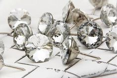 20mm GORGEOUS Cystal Nail Tacks 40 Great for by Whimsicalinteriors, $28.00