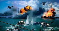La mañana del domingo 7 de diciembre de 1941 amaneció tranquila y despejada en la isla de Oahu (Hawái).  En la base militar de Pearl Harbor todo transc