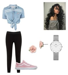 """""""#42"""" by alaburn576 ❤ liked on Polyvore featuring GUESS, JunaRose, Vans, Daniel Wellington and 1928"""
