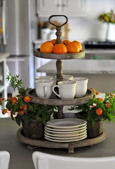 Modern french country kitchen decorating ideas (69)