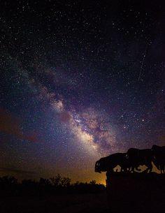 """Deep in the Heart of #Texas"" by Stephen Stookey #NightSky #MilkyWay"