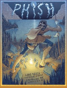 Phish Lake Tahoe Print.
