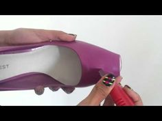 DIY Video How to update your shoes. From pointed to Peep Toes. Isn´t it AMAZING??? / Tu misma moderniza tus zapatos. De punta afilada a punta abierta (boca de pescado). Increíble pero cierto.