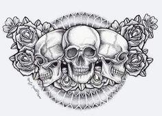 Tattoo para acima dos seios kkkkk