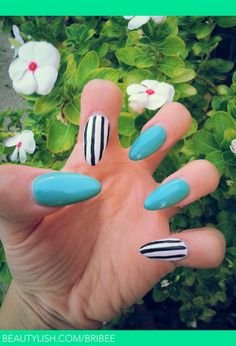 Polished Almond Shape Acrylic Nails | Brittany G.'s (bribee) Photo ...